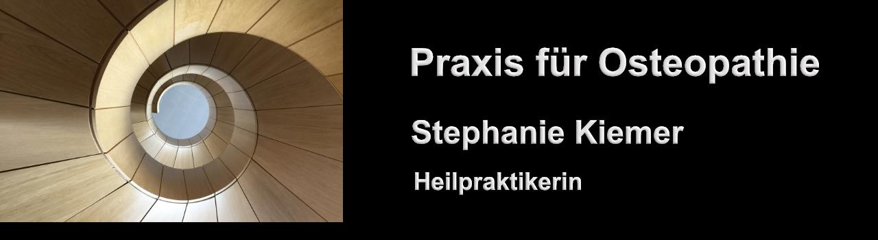 Praxis für Osteopathie Stephanie Kiemer